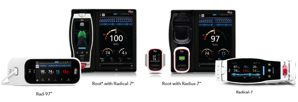 Masimo - Continuous Monitoring with Rad-97 Root with Radical-7 Root with Radius-7 Radical-7