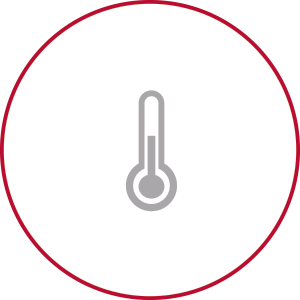 Masimo - Illustration of grey thermometer