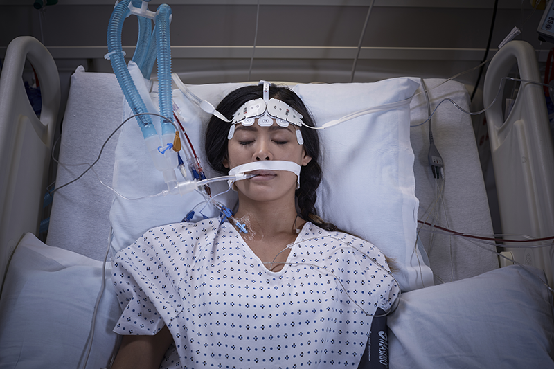 Adult in ICU with O3